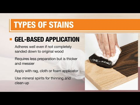 Types of Wood Stains and Finishes for Interior Use