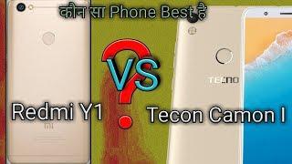 Redmi Y1 vs Tecon Camon i . Who is the Best phone ! width=
