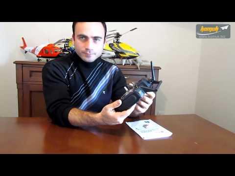 WLtoys V922 3D 6 Kanal Heli : Kumanda SIM Baglantısı