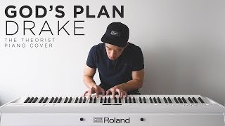 Drake - God's Plan | The Theorist Piano Cover