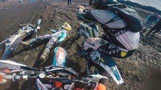 Dirtbike Crash Of The Year | 2017 Parola CC Start