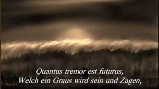 Verdi - Requiem Mass DIES IRAE Introitus - Text - Deutsch