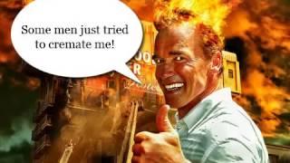 Arnold Is Burned Alive