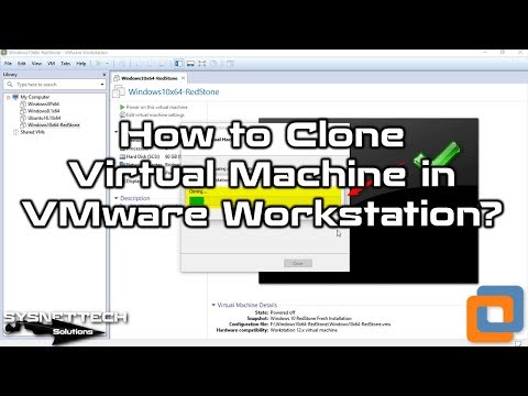 Clone Usage Video in VMware