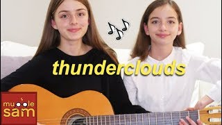 LSD - Thunderclouds ft. Sia, Diplo, Labrinth (Acoustic Guitar Cover) | Mugglesam