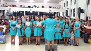 Congresso de Jovens Em Guarantã Do Norte Umadeger Louvando O Senhor Jesus