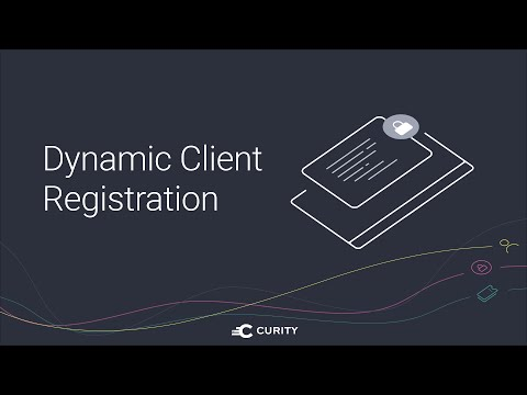 Dynamic Client Registration