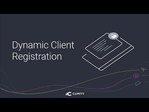 Dynamic Client Registration