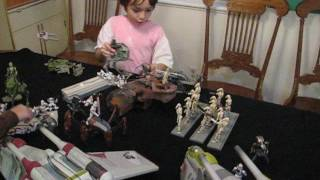 STAR WARS CLONE TROOPER FIGURES BATTLE |  USING THE FORCE  |  FT. LOGAN