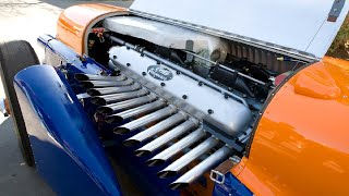 9 Cars With Extreme Big Engines