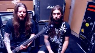 """ENTOMBED A.D. - """"Dead Dawn"""" Track Intro (Guitar World)"""