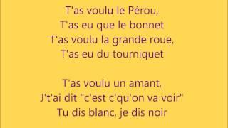 MIKA - J'ai Pas Envie (audio + lyrics)