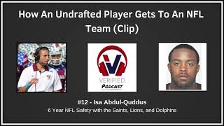 #12 - Isa Abdul-Quddus - Undrafted Player Process (Clip)