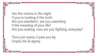Axel Rudi Pell - Visions In The Night Lyrics