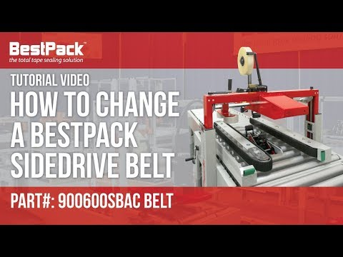 How to Change a Sidedrive Belt