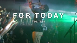 For Today - Fearless [FULL BAND] [Live in Atlanta, GA]