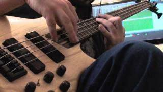 Where did you sleep last night / In the Pines, Cool Instrumental version for electric bass solo