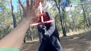 Star Wars Saber Duels (Kylo Ren first person lightsaber fight)