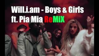 Will.i.am - Boys & Girls Ft. Pia Mia [Speed Remix]
