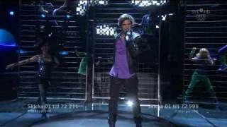 Eric Saade - Manboy (Live Melodifestivalen 2010)