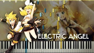[Synthesia Tutorial] Kagamine Rin and Len ~ Electric Angel (Piano Solo)