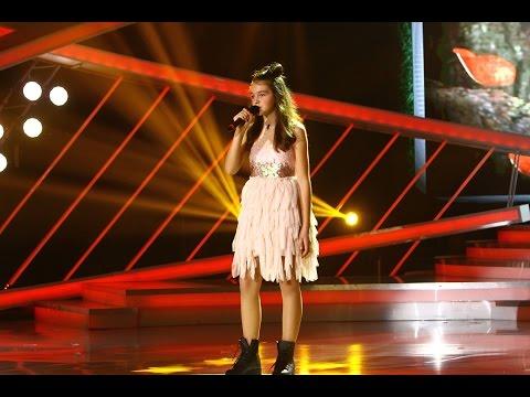 Isa Andreică, din Sălaj, cântă senzaţional pe scena Next Star