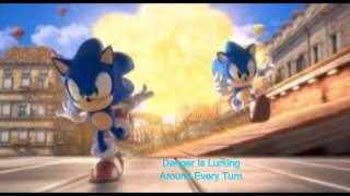 Sonic City Escape Lyrics
