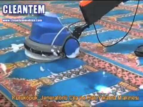 KÖPÜKLÜ HALI YIKAMA MAKİNASI www.cleantem.com