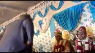 Comedy of dulha in wedding