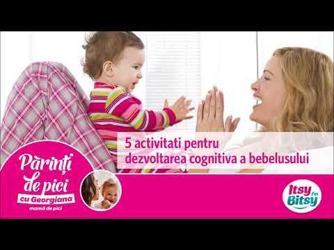 Activitati pentru dezvoltarea cognitiva a bebelusului