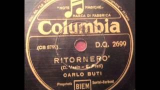 Carlo Buti - Ritornerò.wmv