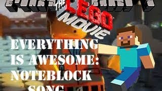 "Minecraft - The Lego Movie's ""Everything Is Awesome"" Noteblock Song (Xbox)"