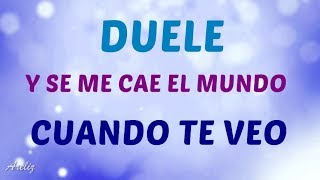 Duele - Gemeliers Ft. Ventino (Letra)