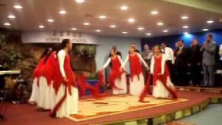 Ministério de dança Toque de Unção-Cassiane