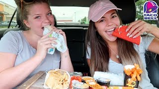 Taco Bell Mukbang with Ally!