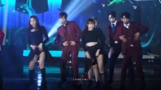 [FANCAM]161226 SBS gayo daejeon - Who's your mama (GOT7 JACKSON FOCUS)