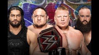 Brock Lesnar vs Roman Reigns vs Braun Strowman vs Samoa Joe Promo   WWE Summerslam 2017