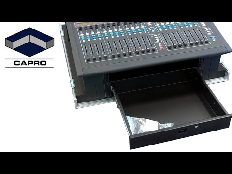 Capro Flightcase for AllenHeath GLD80 mikser