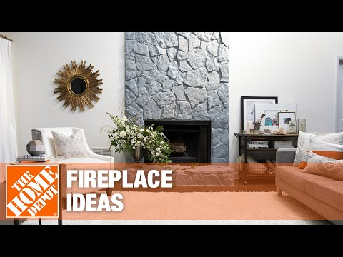 A video details fireplace ideas for your home.