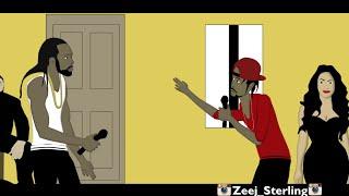 Mavado Vs Popcaan. [Dancehall Street Clash] 2016