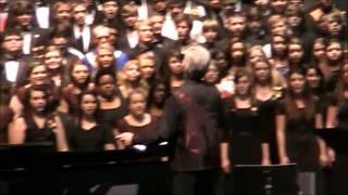 "2012 Alabama All-State Choral Members sing ""John the Revelator"""