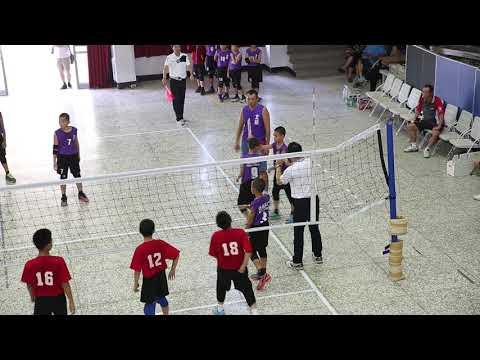 第39屆華宗盃排球賽 五年級男排 冠亞賽 北辰 V S 文林 第二局 - YouTube