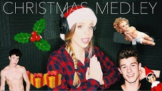 CHRISTMAS MASHUP (There's Nothing Holding Me Back- Shawn Mendes )