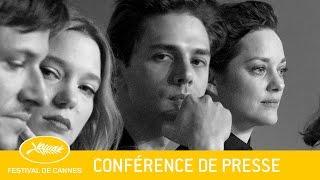 JUSTE LA FIN DU MONDE - Press Conference - EV - Cannes 2016 width=