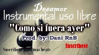 Instrumental de rap romantico 2018 DESAMOR GUITARRA inspirador emocional
