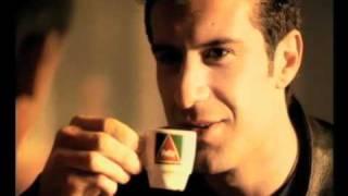 Cafes Delta.Luis Figo y Rivaldo.