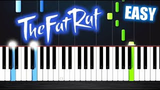 TheFatRat - Monody - EASY Piano Tutorial by PlutaX
