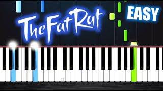 TheFatRat - Monody - EASY Piano Tutorial by PlutaX