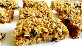 2 INGREDIENT MUESLI BARS RECIPE DIY EASY FOR KIDS