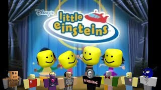 Little Einsteins but with the Roblox death sound